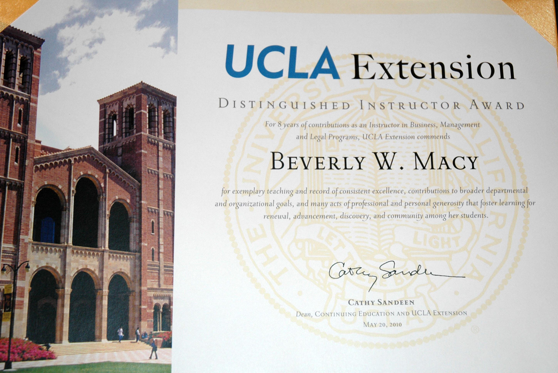 ucla grant writing certificate