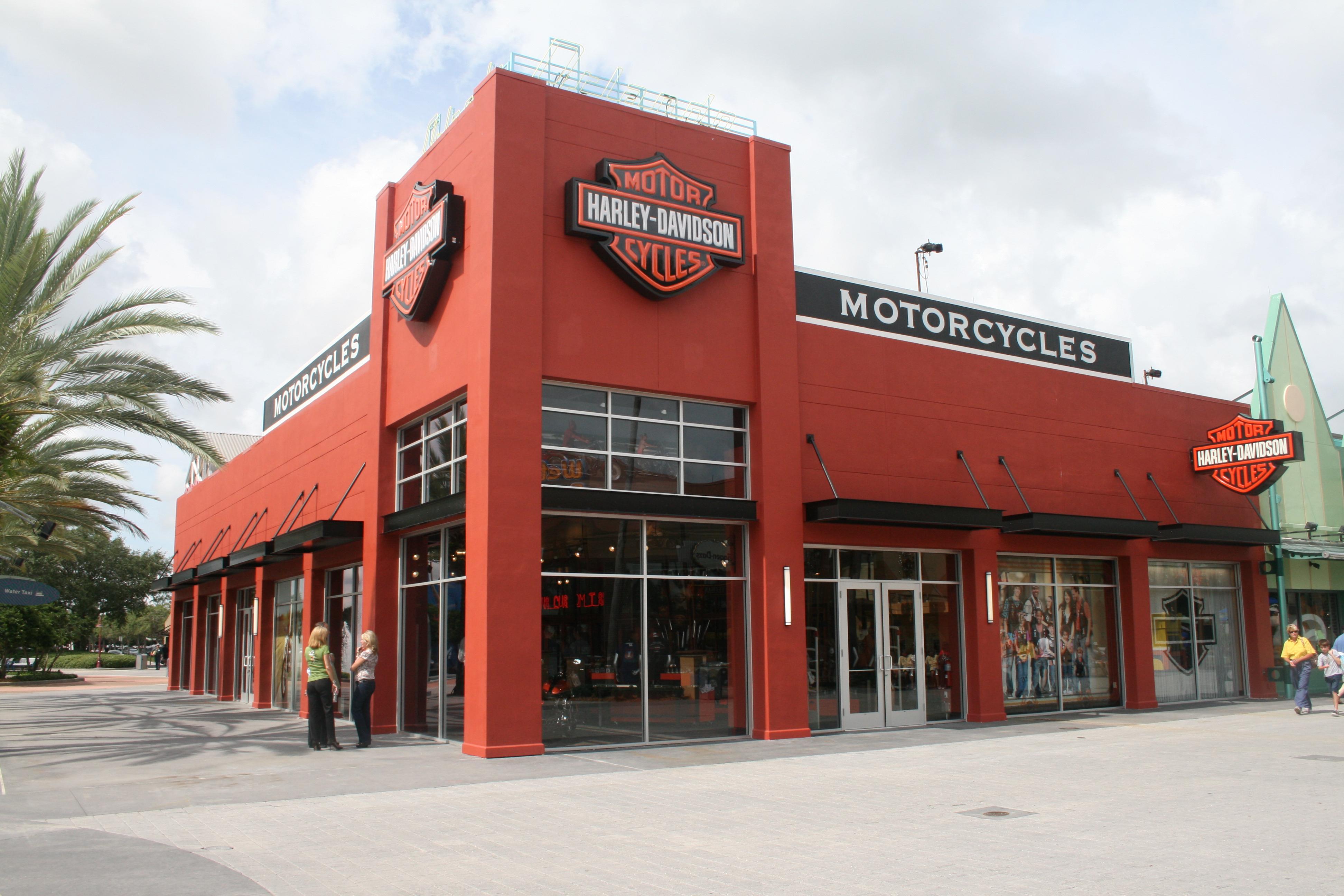newest orlando harley-davidson store is custom fit