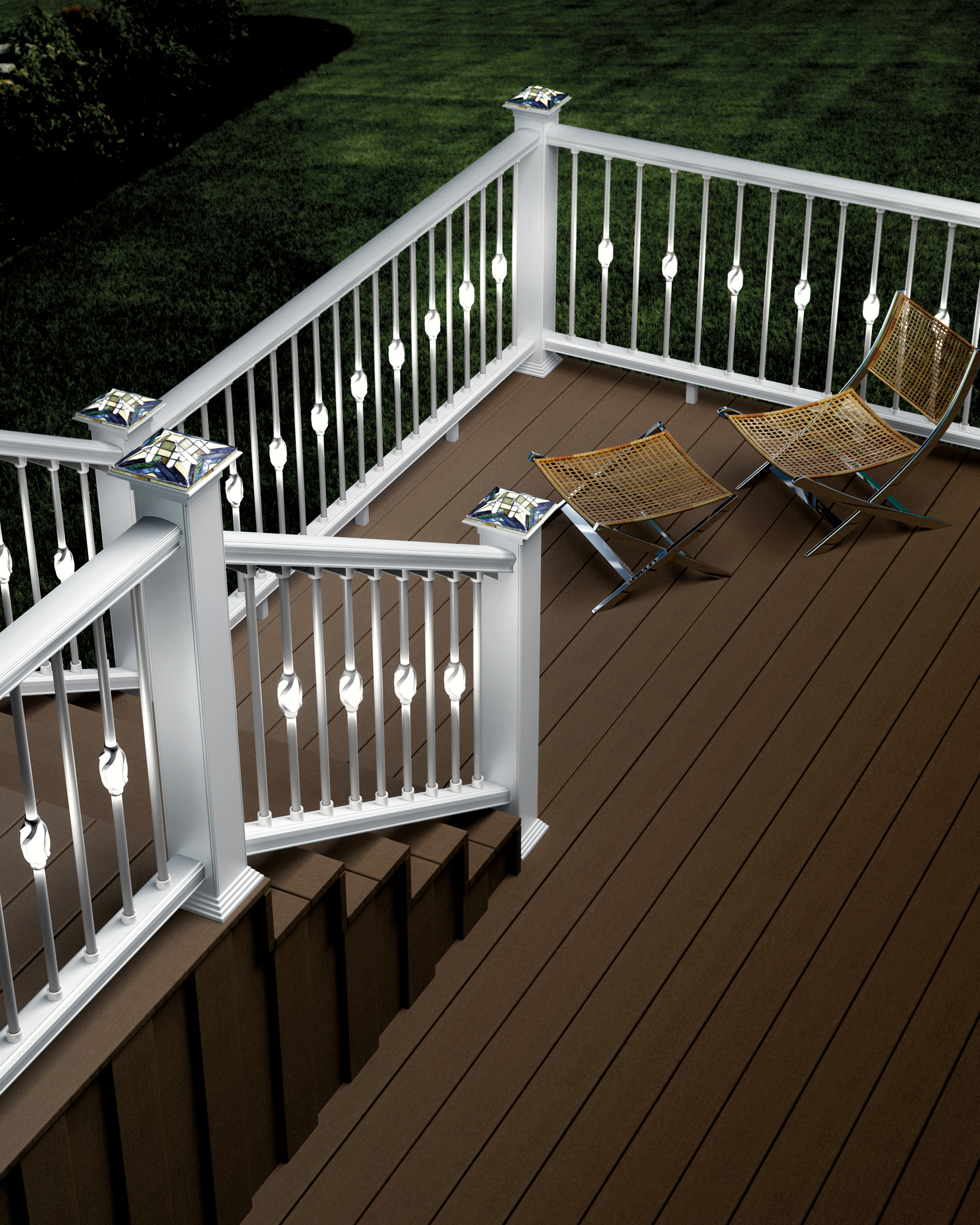 Image of: Deckorators Introduces New Low Voltage Accent Lighting For Decks And Outdoor Living Areas